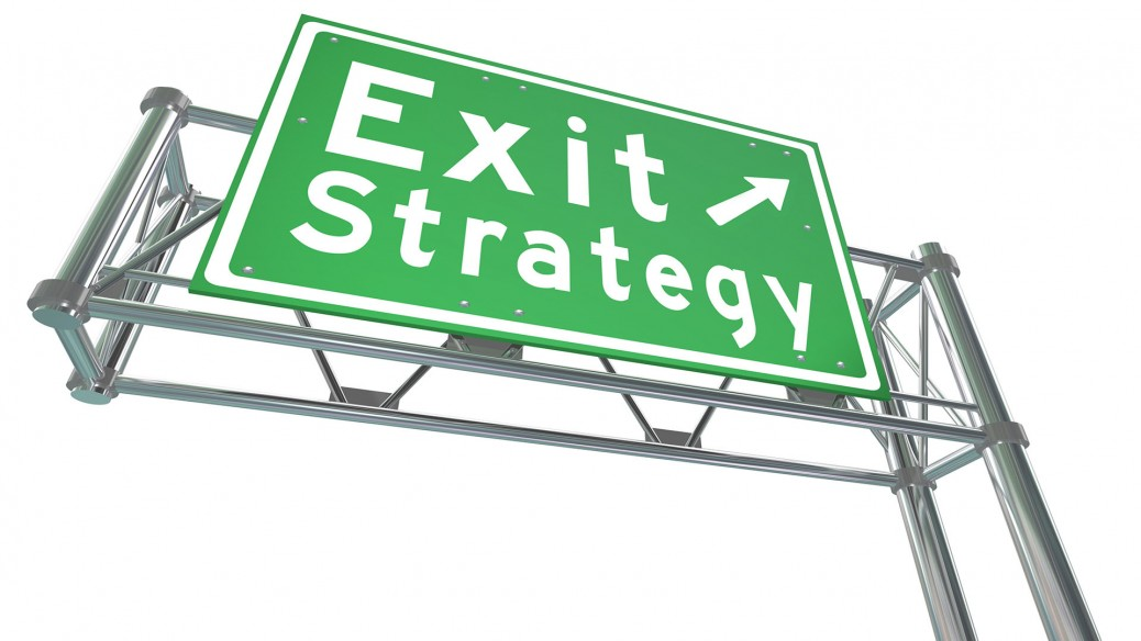 Options exit strategies