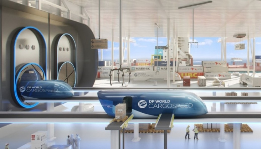 First Freight Brand for Hyperloop is here